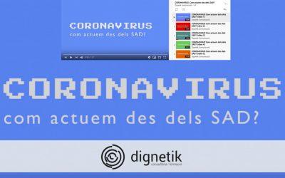 Servei d'Atenció a Domicili: Actuació davant del SARS CoV-2.
